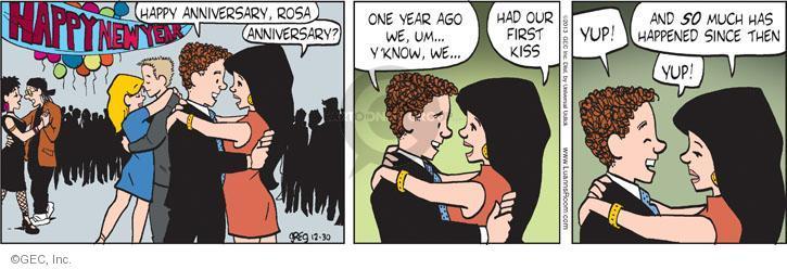 Comic Strip Greg Evans  Luann 2013-12-30 affection