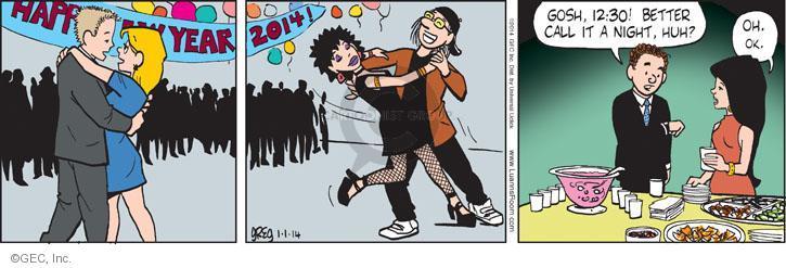 Comic Strip Greg Evans  Luann 2014-01-01 lifestyle