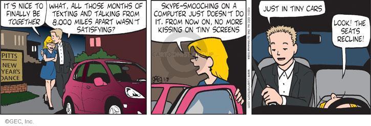 Comic Strip Greg Evans  Luann 2014-01-07 automobile