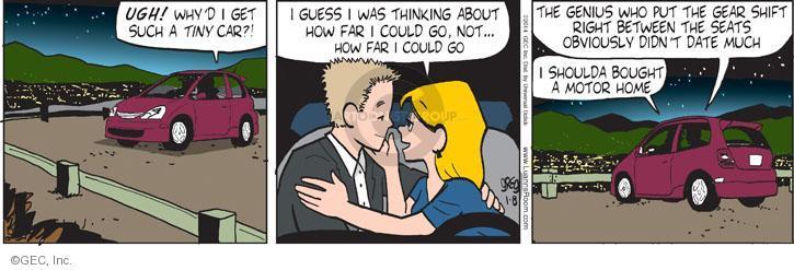Comic Strip Greg Evans  Luann 2014-01-08 automobile