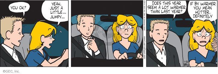 Comic Strip Greg Evans  Luann 2014-01-10 hotter