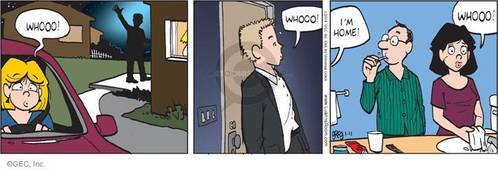 Comic Strip Greg Evans  Luann 2014-01-11 sigh