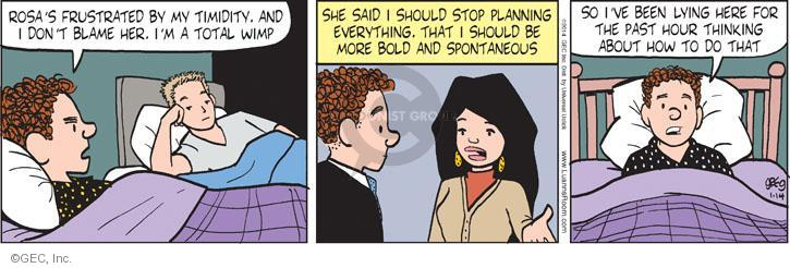 Comic Strip Greg Evans  Luann 2014-01-14 blame
