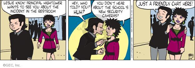 Comic Strip Greg Evans  Luann 2014-02-04 observation