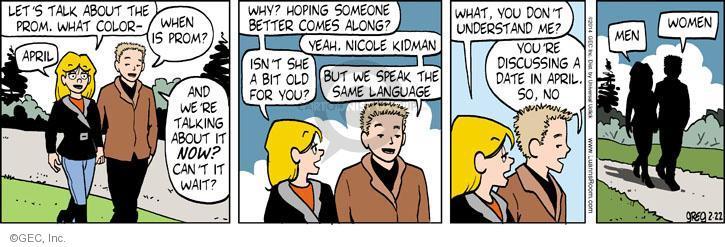 Comic Strip Greg Evans  Luann 2014-02-22 Australia