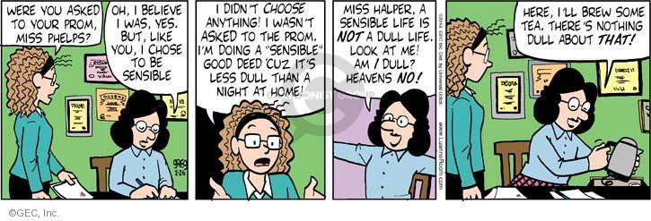 Comic Strip Greg Evans  Luann 2014-02-26 lifestyle