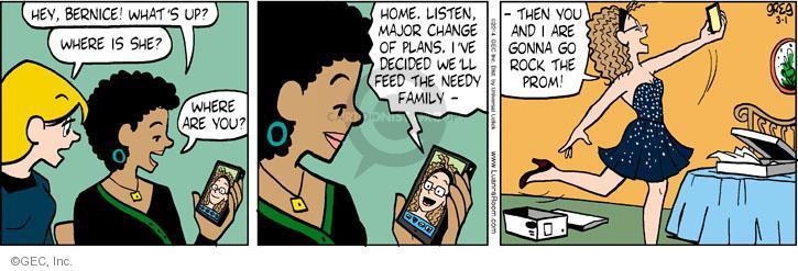 Comic Strip Greg Evans  Luann 2014-03-01 teen