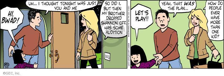 Comic Strip Greg Evans  Luann 2014-03-03 drop