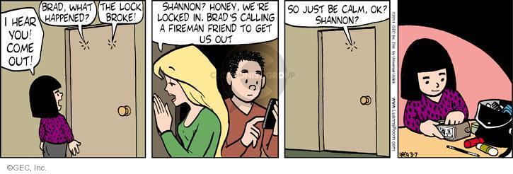 Comic Strip Greg Evans  Luann 2014-03-07 child