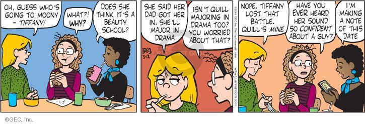 Comic Strip Greg Evans  Luann 2014-03-12 drama