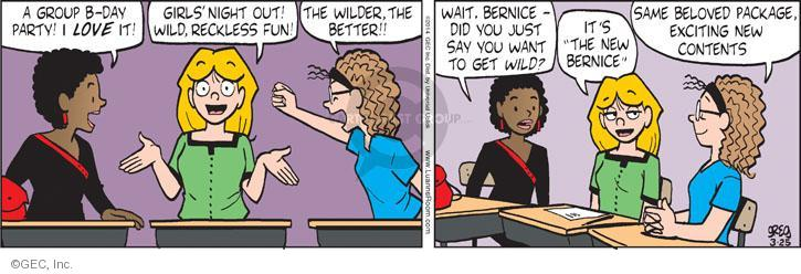 Comic Strip Greg Evans  Luann 2014-03-25 group
