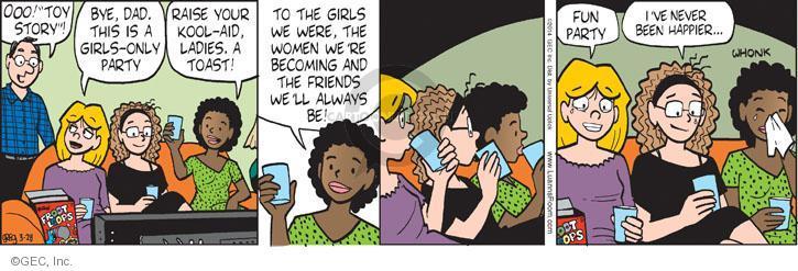Comic Strip Greg Evans  Luann 2014-03-28 milestone