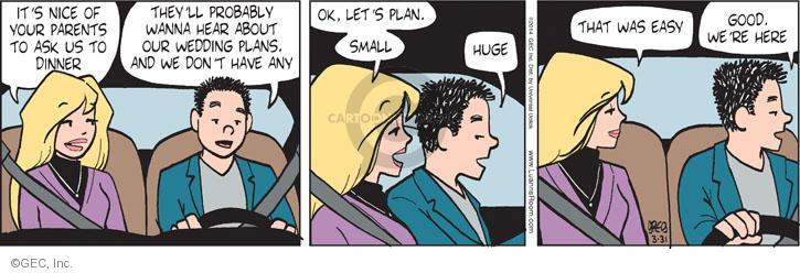 Comic Strip Greg Evans  Luann 2014-03-31 size