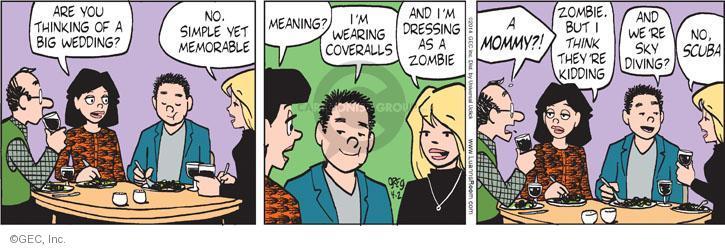 Comic Strip Greg Evans  Luann 2014-04-02 event planning