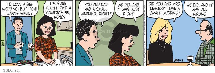 Comic Strip Greg Evans  Luann 2014-04-03 simple