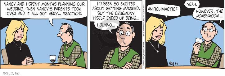 Comic Strip Greg Evans  Luann 2014-04-04 event planning