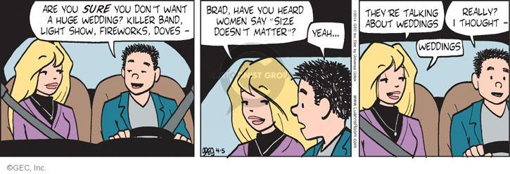 Comic Strip Greg Evans  Luann 2014-04-05 Brad