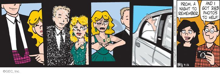 Comic Strip Greg Evans  Luann 2014-04-16 memory