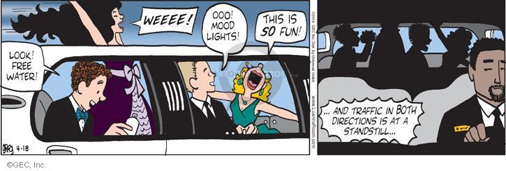 Comic Strip Greg Evans  Luann 2014-04-18 excitement