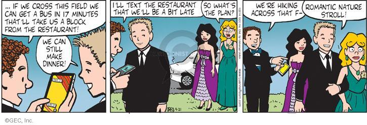 Comic Strip Greg Evans  Luann 2014-04-21 romantic