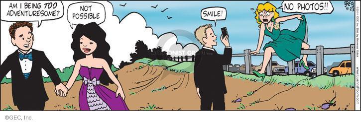Comic Strip Greg Evans  Luann 2014-04-23 picture