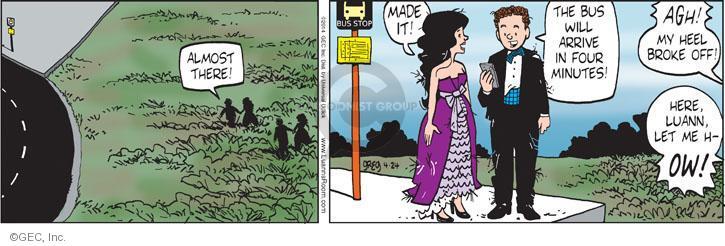 Comic Strip Greg Evans  Luann 2014-04-24 public