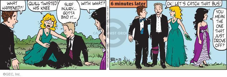Comic Strip Greg Evans  Luann 2014-04-25 catch