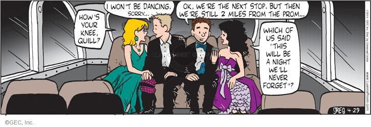 Comic Strip Greg Evans  Luann 2014-04-29 memory