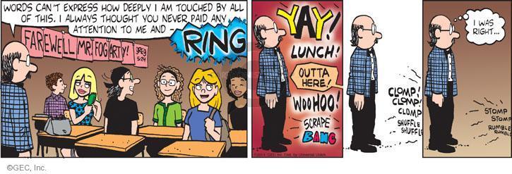 Comic Strip Greg Evans  Luann 2014-05-24 teacher