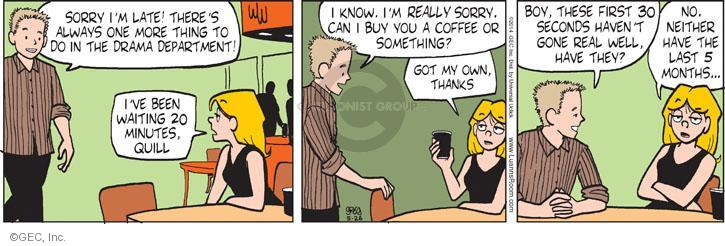 Comic Strip Greg Evans  Luann 2014-05-26 drama