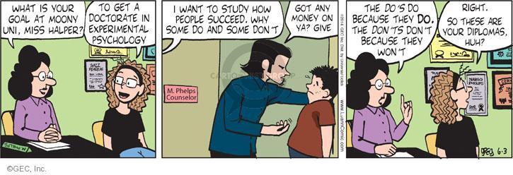 Comic Strip Greg Evans  Luann 2014-06-03 aspiration