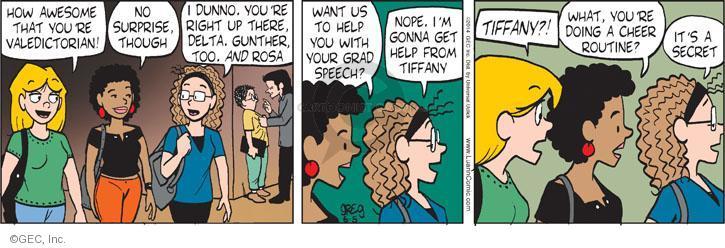 Comic Strip Greg Evans  Luann 2014-06-05 Gunther