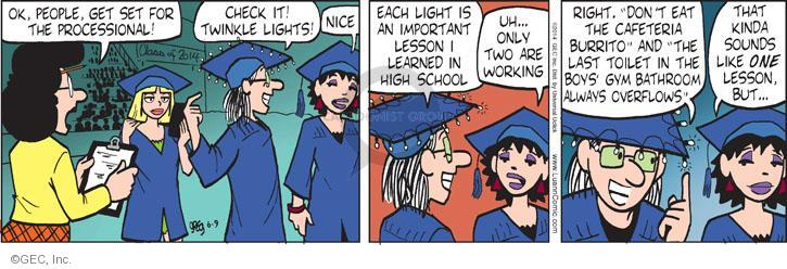 Comic Strip Greg Evans  Luann 2014-06-09 lesson
