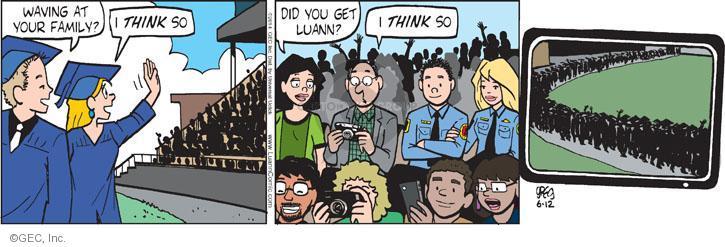 Comic Strip Greg Evans  Luann 2014-06-12 picture