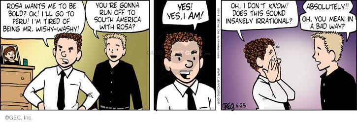 Comic Strip Greg Evans  Luann 2014-06-25 courageous