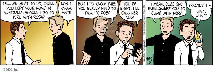 Comic Strip Greg Evans  Luann 2014-06-27 Australia