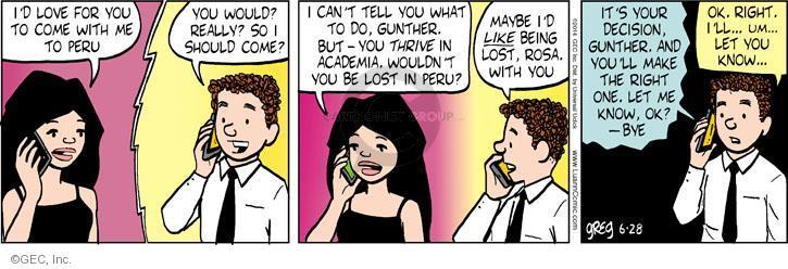 Cartoonist Greg Evans  Luann 2014-06-22 date