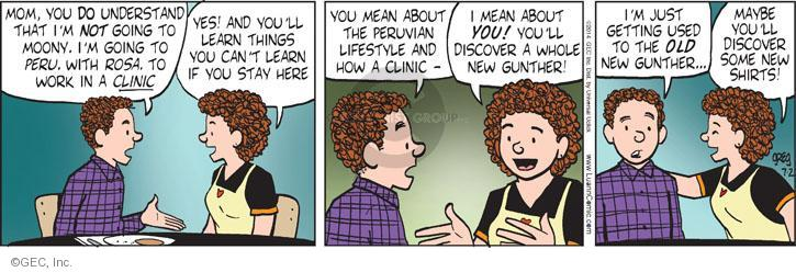 Comic Strip Greg Evans  Luann 2014-07-02 growing up