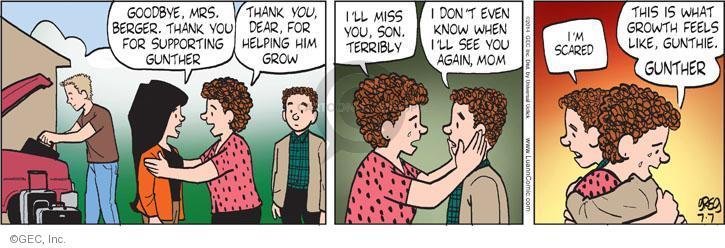Comic Strip Greg Evans  Luann 2014-07-07 growing up