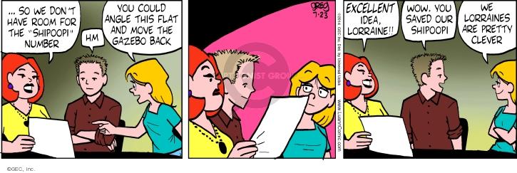 Comic Strip Greg Evans  Luann 2014-07-23 pretty
