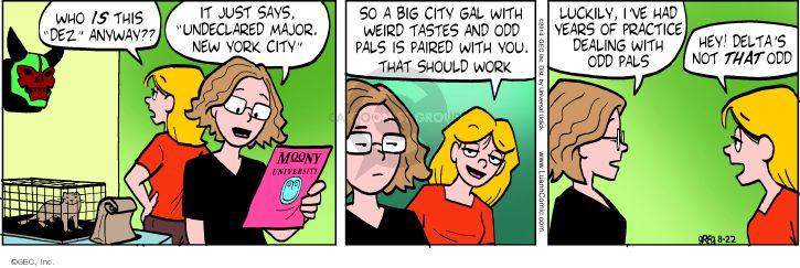 Comic Strip Greg Evans  Luann 2014-08-22 year