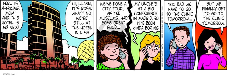 Comic Strip Greg Evans  Luann 2014-08-25 America