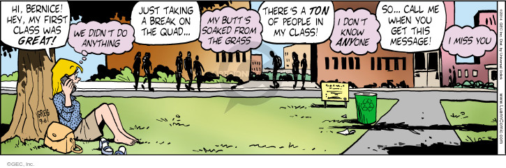 Comic Strip Greg Evans  Luann 2014-09-06 voice