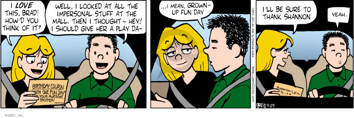 Comic Strip Greg Evans  Luann 2014-09-29 give up