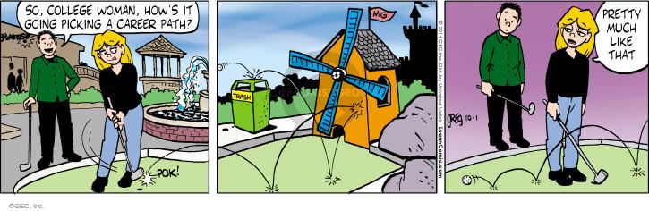 Comic Strip Greg Evans  Luann 2014-10-01 pretty