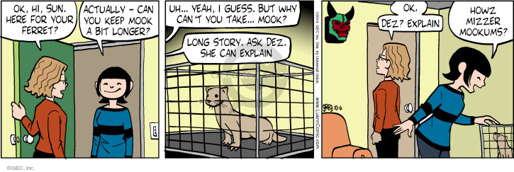 Comic Strip Greg Evans  Luann 2014-10-06 story