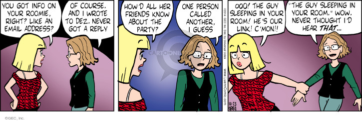 Comic Strip Greg Evans  Luann 2014-10-23 reply