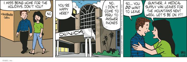 Comic Strip Greg Evans  Luann 2014-11-28 next week