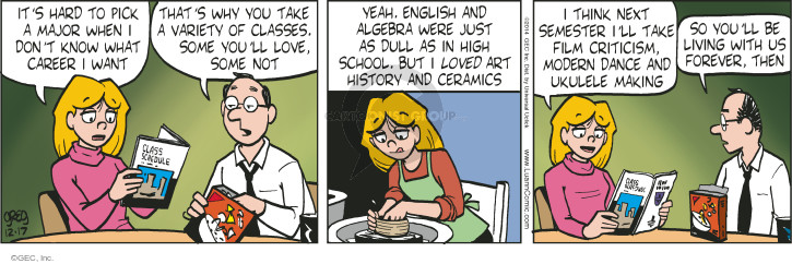 Comic Strip Greg Evans  Luann 2014-12-17 modern