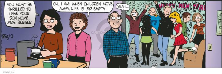 Comic Strip Greg Evans  Luann 2015-01-03 teen